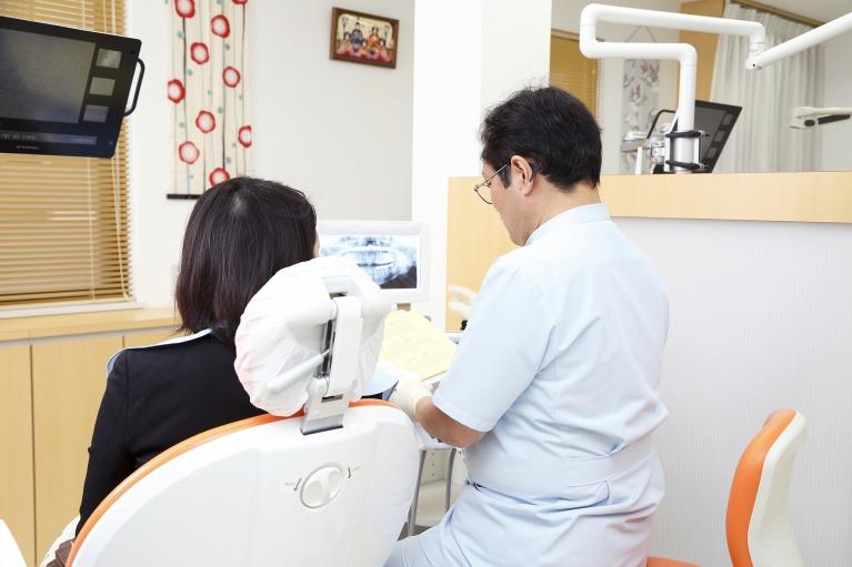 「環境」から、歯周病の原因をなくす治療を行います